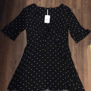 Free People Black Dress size 10